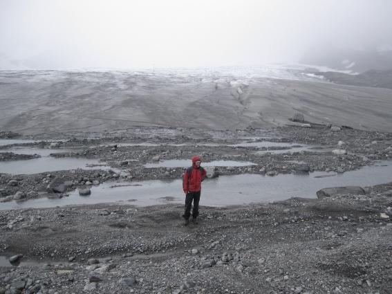 2. Glacier foreland