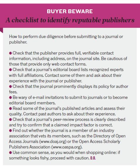 buyer beware_predatory journals